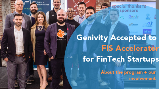 Genivity Accepted to 2019 FIS FinTech Accelerator