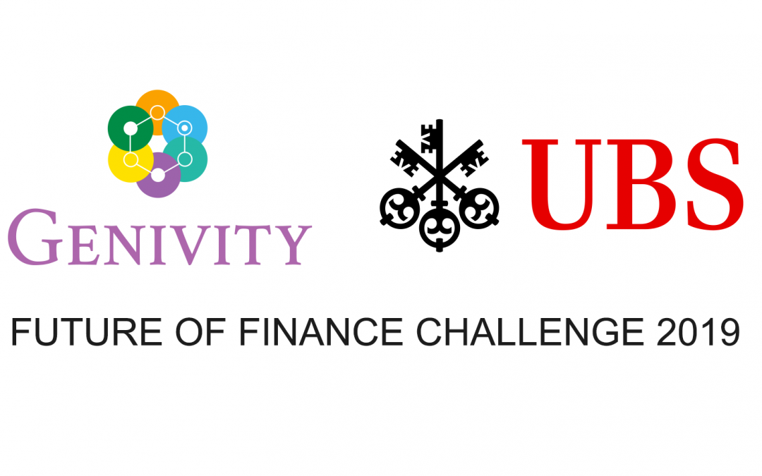 Genivity Selected as Finalist for UBS Future of Finance Challenge
